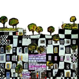 Friedensreich Hundertwasser: die Kunst in der Natur und die Natur in der Kunst – l'art dans la nature et la nature dans l'art