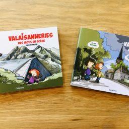 Le patois, « des mots en scène » : Vaudoiseries et Valaisanneries